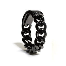 IVXLCDM DUAL RING BLACK